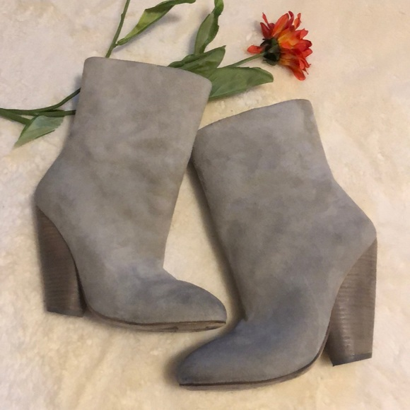 Marsell Gray Suede booties